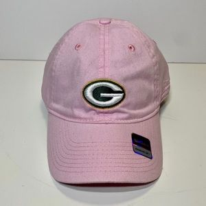 NFL Packer's Breast Cancer Awareness Baseball Cap